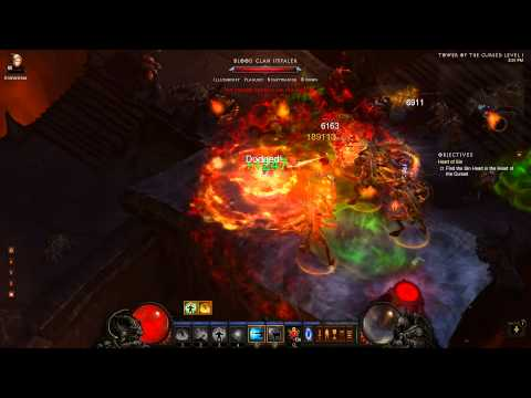 Diablo 3 - Monk Tank (Fire) - Act 3 Inferno Farming Tutorial / Guide - 1.0.4