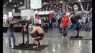 Russia on Arnold Sports Festival 2010.Strongman.Atlas Stone