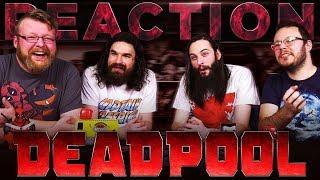 Deadpool 2 | The Trailer REACTION!!