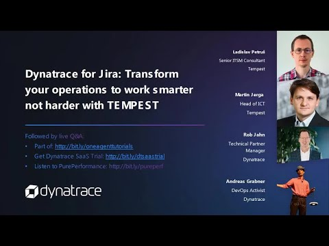 Dynatrace for Jira - Transform your operations to work smarter not harder with Tempest