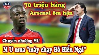 """🔥Chuyển Nhượng MU: M U Quay Sang """"cà khịa"""" Arsenal mua """"máy chạy Bờ Biển Ngà"""""""