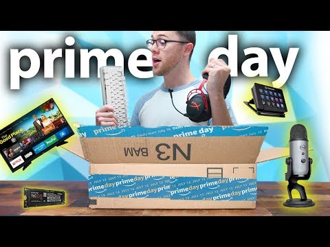 Best Amazon Prime Day Tech Deals!!!