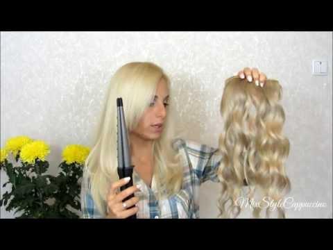 ♥ Натуральные волосы на типсах / Красим и делаем локоны