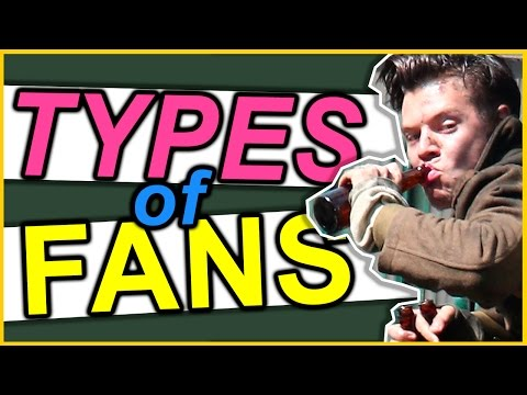TYPES OF FANS WATCHING DUNKIRK • One Direction