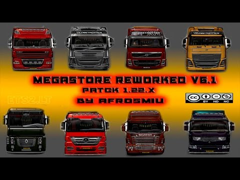 Euro Truck Simulator 2 - ETS 2 Mods Reviews Mega Store Reworked V 6 1 by Afrosmiu│NetstocGaming