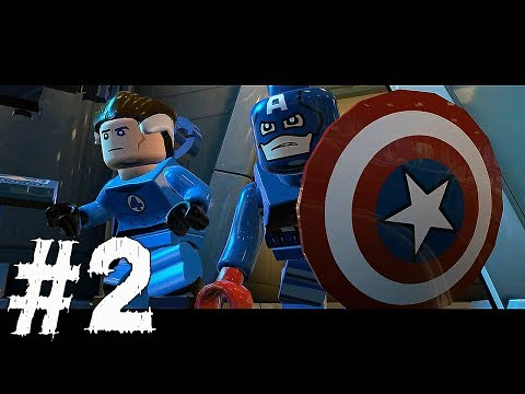 Lego Marvel Super Heroes Gameplay Walkthrough Part 2 - TIMES SQUARE OFF - Mission 2