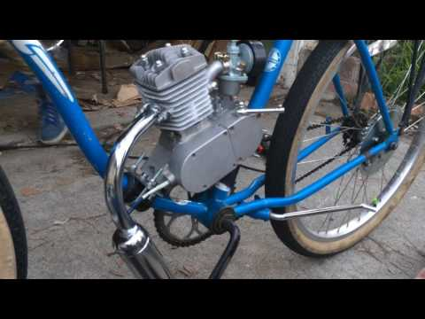 49cc Motorized Bike Build And Review