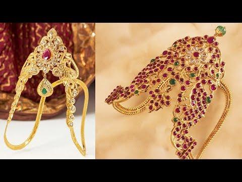 Latest Gold Vanki Type Finger Ring Designs - She Fashion