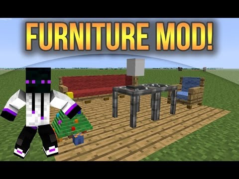 Minecraft 1.7.10/1.7.2/1.6.4 - Descargar e Instalar Furniture Mod (Jammy Furniture)