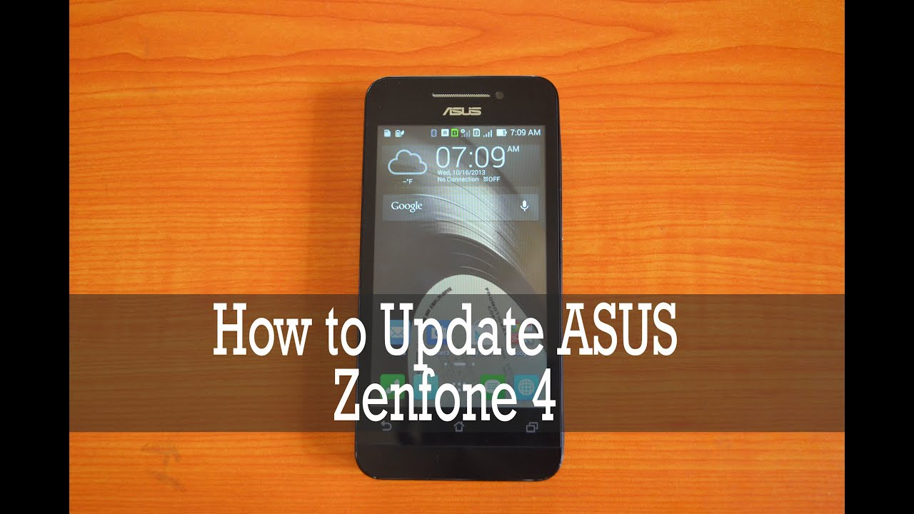 Zenfone 4 Update Firmware