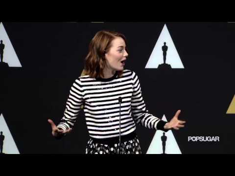 Emma Stone Jokes About How Looking Beautiful is All That Matters