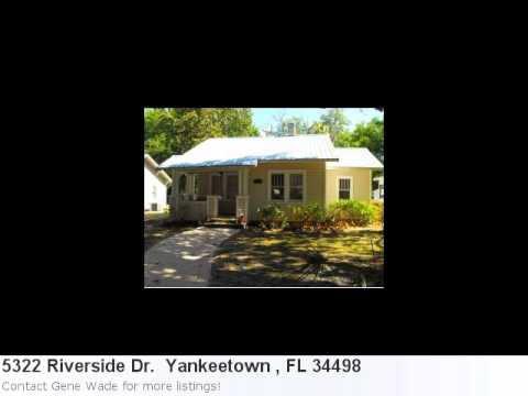 Yankeetown , Fl Real Estate For Sale-This Attractive 2 Bedro