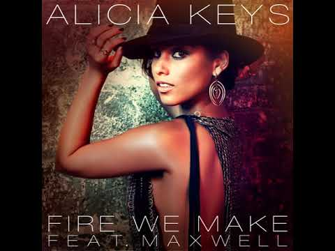 Alicia Keys, Maxwell - Fire We Make (Audio)