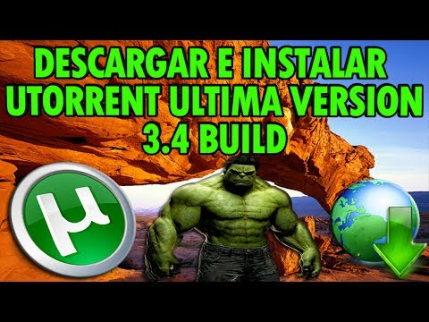 Como Descarrgar Utorrent Ultima Version 3.4 GRATIS