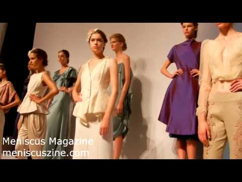Son Jung Wan interview - Spring 2013 New York Fashion Week - Meniscus Magazine
