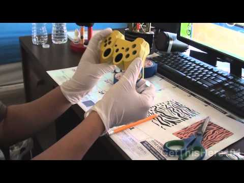 How To: Paint your PS3 controller #2 (HD)