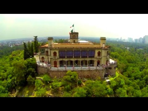 Castillo de Chapultepec, Como Nunca. Chapultepec Castle as never seen before.
