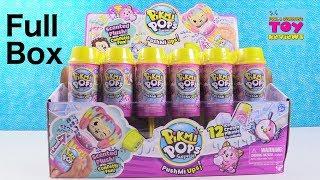 Pikmi Pops PushMiUps Push Mi Ups Surprise Plush Full Box Toy Review | PSToyReviews