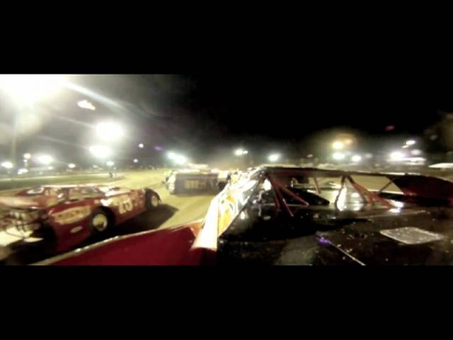 Delaware International 10-23-10 Andy Haus in car dirt late model