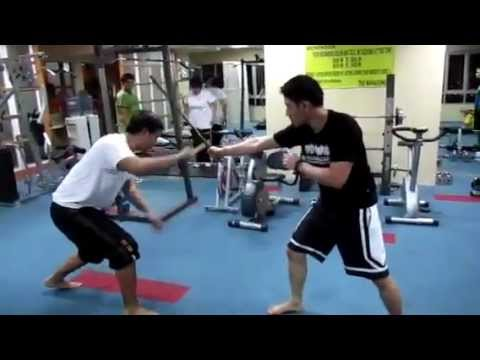 Mark Tarin & Alex Tiongson demonstrating Moro Moro Orabes Heneral Eskrima Techniques Image 1