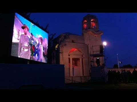 La cérémonie de l'Anzac Day 2016 en direct