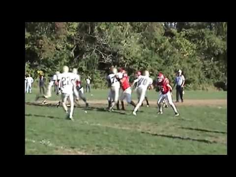 Stephen Honick Archbishop John Carroll High School  Football Video Clips 2013
