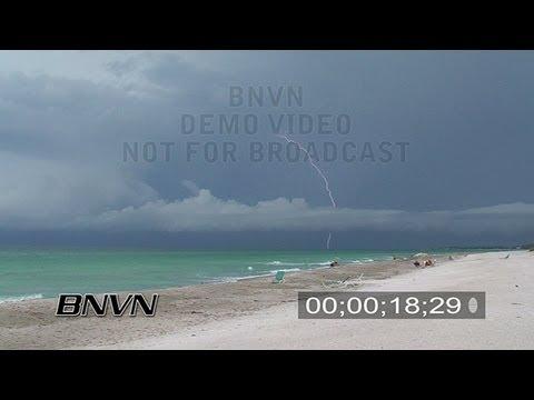 7/24/2007 Longboat Key, FL Beach Lightning