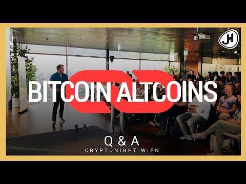 Wird BITCOIN die ALTCOINS mitziehen? (English Subtitles)