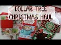 DOLLAR TREE CHRISTMAS HAUL