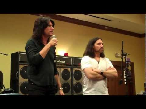 Eric Singer and Tommy Thayer of Kiss Q and A at the Indianapolis Expo (Entire session)
