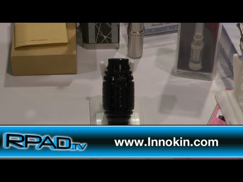 Innokin at ECC 2013 (iTaste VTR. Cool Fire Mods)