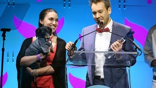 Crusoe Wins Shorty Award for Best Animal 2017