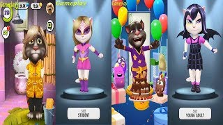 My Talking Tom 2 VS My Talking Tom  VS 2 My Talking Angela Great Makeover for Children HD