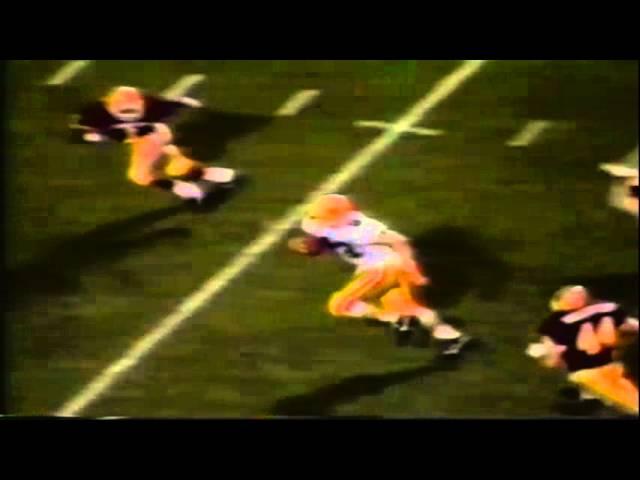 Oregon TE Jeff Thomason 29 yard touchdown catch vs. ASU 11-09-1991