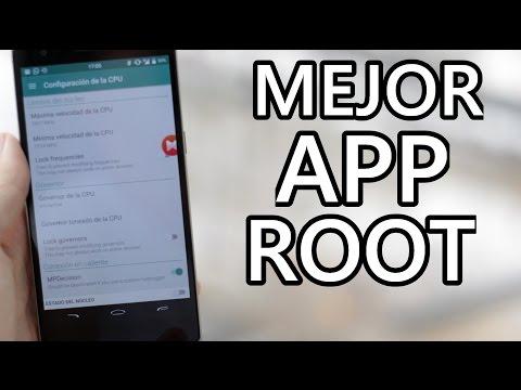 Mejor aplicación ROOT para Android - 2015