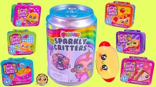 Lunch Box Surprise ! Poopsie Sparkly Critters Blind Bag Slime - Toy Video