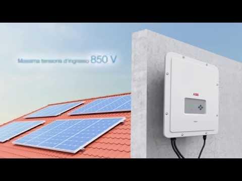 Inverter fotovoltaico ABB; UNO-2.0/3.0/3.6/4.2-TL-OUTD