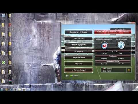 Editor De Ser Una Leyenda + Dinero infinito Para La Liga Master Pes 2014 HD]