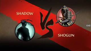 GAMEPLAY: Defeating Shogun! The samurai boy! (Shadow fight 2)