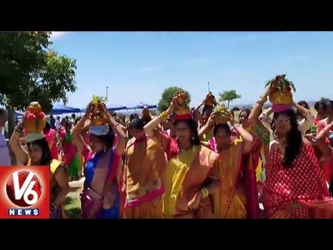 Telangana Association Holds Bonalu Festival Celebration In San Diego | V6 USA NRI News