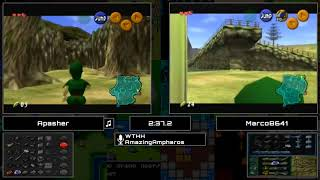 Ocarina of Time Randomizer Exhibition Race! Apasher vs. Marco8641.