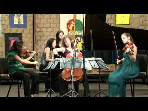 Schumann Piano Quartet in Eb Major, Op.47, 4th Mvt