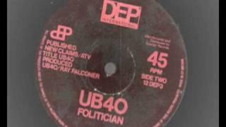 Watch Ub40 Folitician video