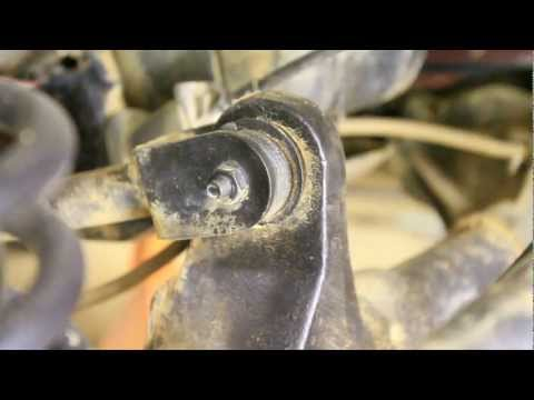 Replace Upper Control Arm Bushings