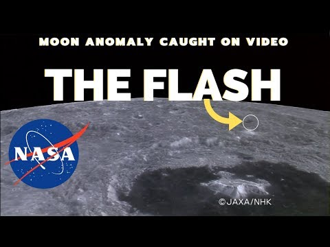 NASA Moon Anomaly Captured On Video #2 - The Flash 2010