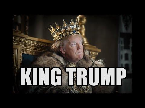 King Trump (parody of Steve Martin's
