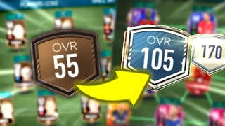 Greatest Team Upgrade in FIFA Mobile 20 - 50m coins team upgrade / Full Premier League Team