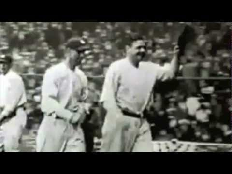 Babe Ruth - Funeral (Take Me Out To The Ballgame)