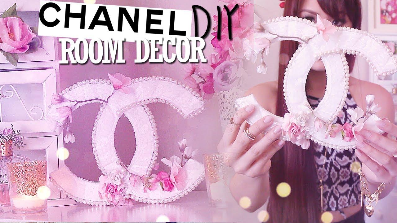 Diy Room Decor Chanel Logo Spring Summer Youtube