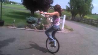 Heather Unicycle